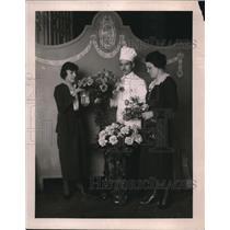 1920 Press Photo Ms. Teresa Pita, Louis Paquet & Ms. Margaret Dashiell