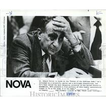 1980 Press Photo Dr. Edward teller in Father of the Hydrogen Bomb