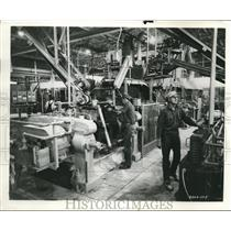 1957 Press Photo Goodyear Tire & Rubber Factory / Plant Feed Mill
