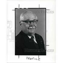 1989 Press Photo Son of American Revolution, Luther C. Leavitt, Jr.