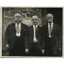 1926 Press Photo L N Aller H T Aller and T O Aller Foundry Workers 3 Generations