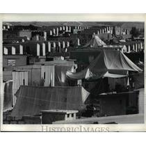1970 Press Photo Jordan The Baqa's Refugee Camp - nee01343
