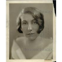 1929 Press Photo Mrs. Ma B. Watson - nee00751