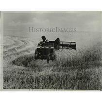 1933 Press Photo Wheat Fields - nee01107