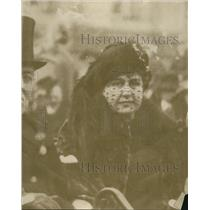 1921 Press Photo First Lady Edith Wilson