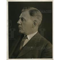 1928 Press Photo U.J. Herrmann, Minister of Radio World's Fair