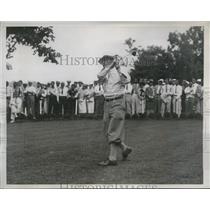 1934 Vintage Photo George Sayers teeing off National Open Ardmore PA