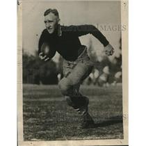 1925 Press Photo halfback Murray Cuddeback of Stanford University