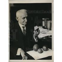 1933 Press Photo Dr.William . Taykor chief of the Bureau Plant Industry