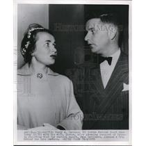 1952 Press Photo Harry A. Jarvinen, Wife Sirkka in Seattle Court - nee02404