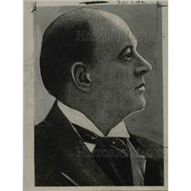 1920 Press Photo Reverend J.F. Poucher - nee05871