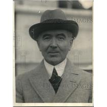 1924 Press Photo Professor T A Smiddy Free State representative Washington