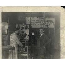 1925 Press Photo The Dynamometer - nex66389