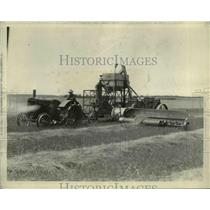 1929 Press Photo Franklin Bros. Farm, Salina, KS