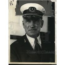 1928 Press Photo Captain Albert Wilson of the Garfield - nee05605