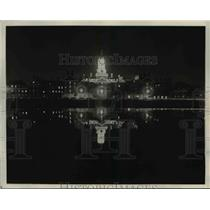 1930 Press Photo The Charles River at Cambridge in Massachusetts
