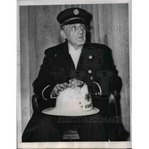 1953 Press Photo Charles Spuehler Arrested For Speeding - nee03637