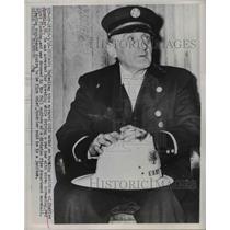 1958 Press Photo Charles Spuehler Arrested for Speeding - nee03635