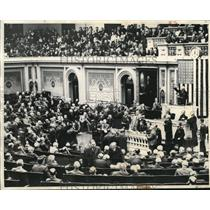 1950 Press Photo Speaker Byrns & new House of Representativess - nee02844