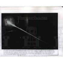 1956 Press Photo Light Fired From New Ames Light-Gas Gun