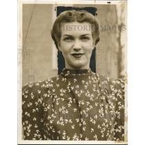 1938 Press Photo Clara Mae Keu - nee02284