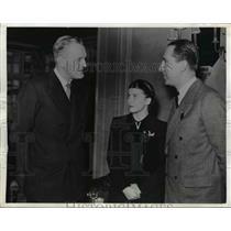 1941 Press Photo Edward Riley, Senor and Denora Don Raul Omionte Taborda