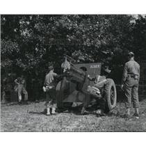 1940 Press Photo Ohio National Guard