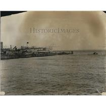 1924 Press Photo Ship at Sea - nee04768