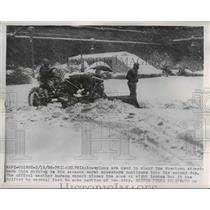 1956 Press Photo Philadelphia Snowplows - nee03066