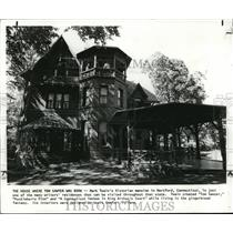 1984 Press Photo House where Tom Sawyer was born, the Twain's Victorian mansion