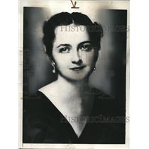 1935 Press Photo Miss Christine Shepherd won sorority scholarship North Carolina