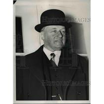 1938 Press Photo W Bostrom Swedish Minister Going to The White House - nee03433