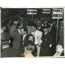1932 Press Photo Mayor Jimmie Walker - nee02822