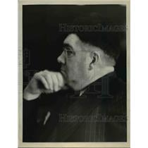 1927 Press Photo Edwin C. Burns - nee05923