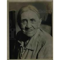 1934 Press Photo Elderly Woman Theresa Peshek - nee05954