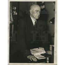 1938 Press Photo Rep Hatton Sunners Chairman House Judiciary Committee