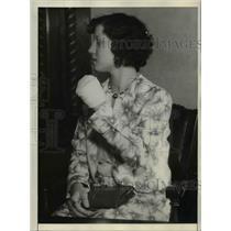 1932 Press Photo Stella Kerkes of Phoenix Clinic at Ruth Judge Trial in Phoenix