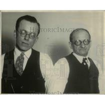 1927 Press Photo Glenn Child with Proprietor Oscar Pokel - nee06305