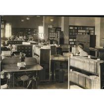1925 Press Photo The new Public Library