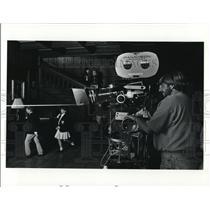 Undated Press Photo Camera Operator Martin Hume Movie Paradise