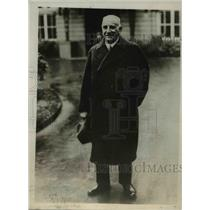 1930 Press Photo Carl Wilhelm Petersen, President Hamburg Municipal Council