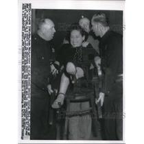 1956 Press Photo Mrs. Rose Wald's son charged with abduction, 2nd degree rape.