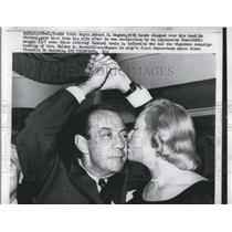 1961 Press Photo of New York Mayor Robert F. Wagner Jr.