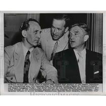 1953 Press Photo Senate Investigating Subcommittee, John L. McClellan