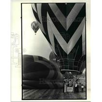 1982 Press Photo Balloon Race