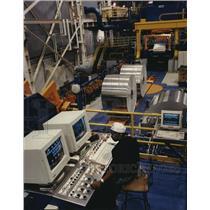 1999 Press Photo Alcan Aluminum Ltd. plant in Logan County, Kentucky