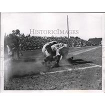 1948 Press Photo Phoenix Az Johnny Mize of NY Giants, Gene Bearden - nes25988