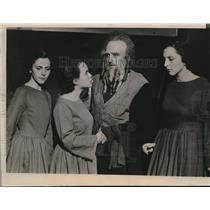 1935 Photo Priscilla Brubaker Constance Morrow Reeve John Becker play