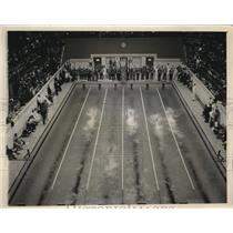 1940 Photo 6th heat 100 YD. Freestyle Nat'l Collegiate Championships