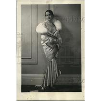 1929 Press Photo Miss Sue Pollari at Willard Hotel